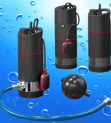 Upotettavia vesiautomaatteja